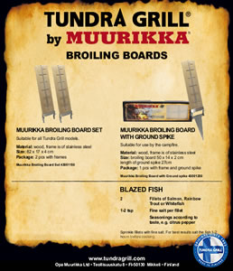 Tundra Grill Broiling Boards