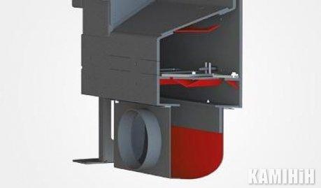 Адаптер притоку зовнішнього повітря GT37/44, GT37/50 ø 150 мм