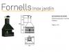 Барбекю Rocal Fornells Inox Jardin