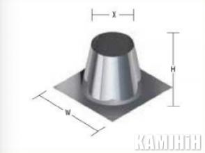 Покрівельний лист ROOF PLATE 0-10°