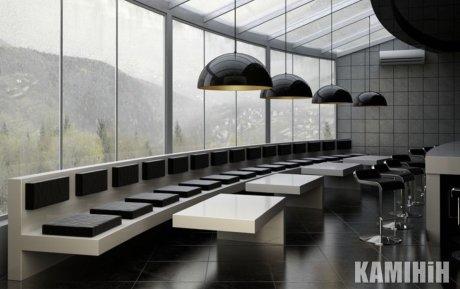 Дизайнерская лампа с двухсторонним покрытием Ø50 см