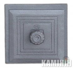 Cast iron door DKR1