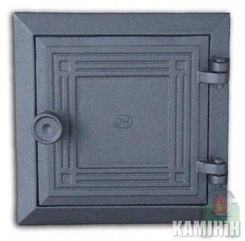 Дверцята чавунні DKR3