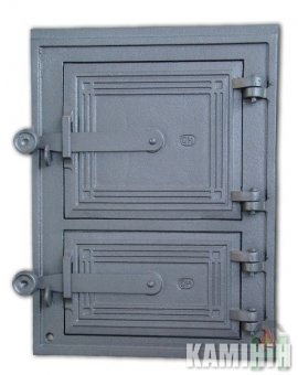Дверцята чавунні DPK2W