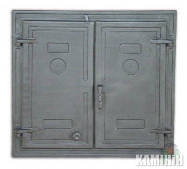 Дверцята чавунні DW3