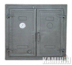 Дверцята чавунні DW3T