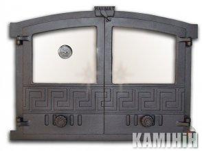 Дверцята чавунні GRECJA 4