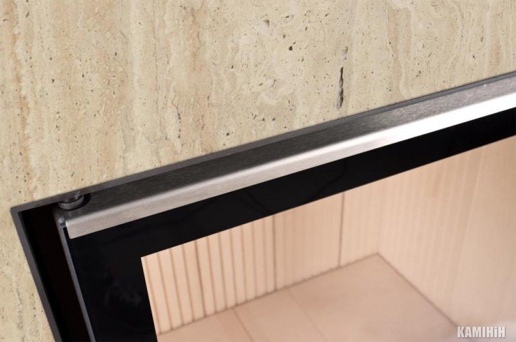 Дверний молдінг 50/35/45 W нерж. сталь, лкво / правостороннє відкриття