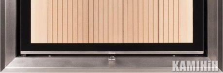 Дверний молдінг 50/35/45 Wh нерж. сталь, вертикальне відкриття