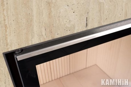 Дверний молдінг 78/57, нерж. сталь