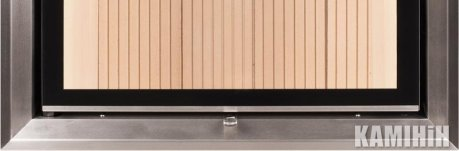Дверний молдінг 78 / 57WTh, нерж. сталь, вертикальне відкриття
