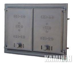 Дверцята чавунні DCHP1