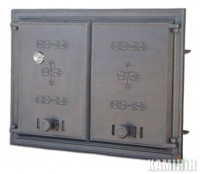 Дверцята чавунні DCHP2