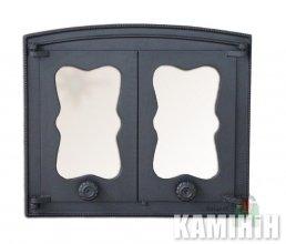 Дверцята чавунні з склом BATUMI 1
