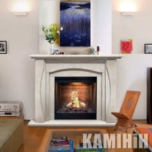 Electric fireplace Duga