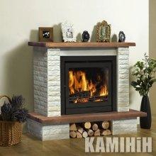 Electric fireplace Rain
