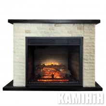 Electric fireplace Stone
