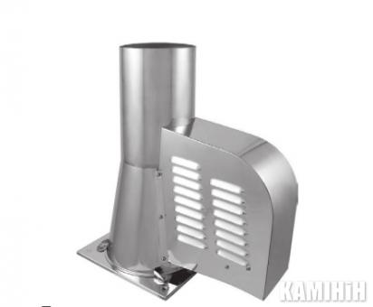 Генератор тяги дымохода GCK150CH квадратная подставка (с открытием)