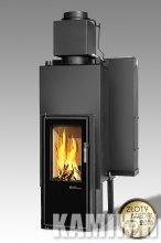 Fireplace insert Iwona Pellets FELIX AQUA LONG 13 kW Twin glass