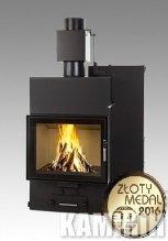 Fireplace insert Iwona Pellets LOUIS AQUA 15 Kw Triple glass