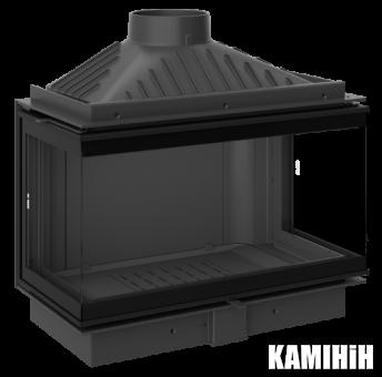Каминная топка KFD ECO iMAX 7 3F standard с шибером