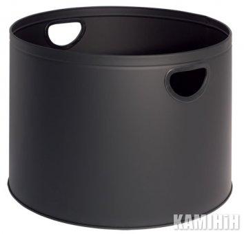 Кошик для дров, чорний