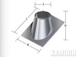 Kalfire ROOF PLATE 5-25°
