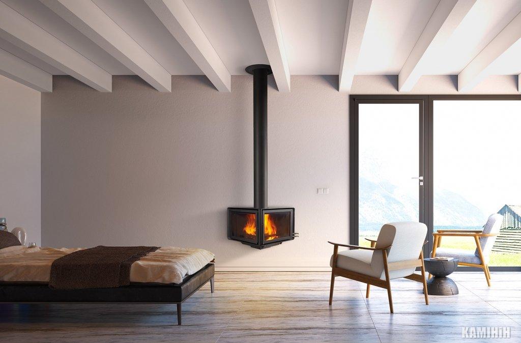 Дизайнерський камін Rocal Vertex
