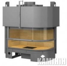 Fireplace Totem Galbe Lateral 1000 Eco Bis