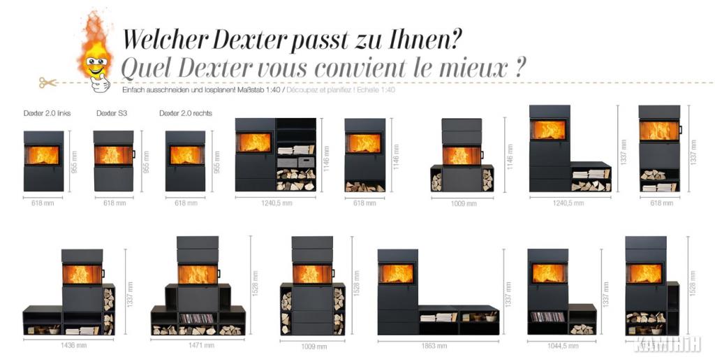 Піч-камін Austroflamm Dexter S2