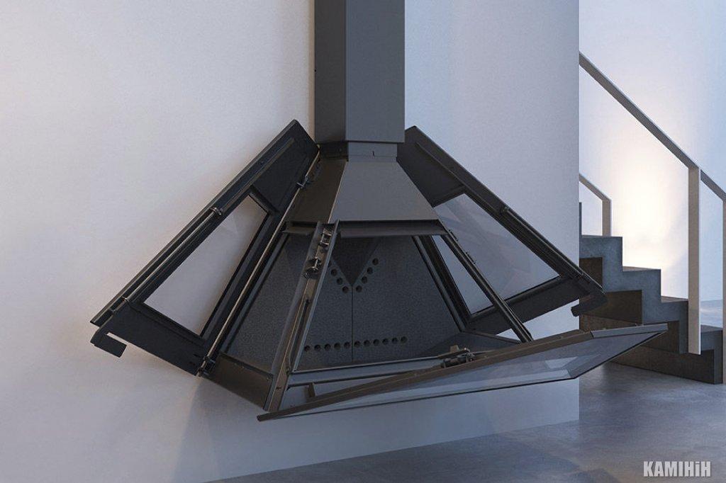 Дизайнерський камін Rocal D-10