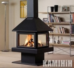 Fireplace stove Rocal Giselle 90 GRAFFITI