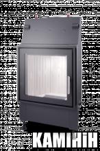 A furnace Aquador Blok 515 with steel frame