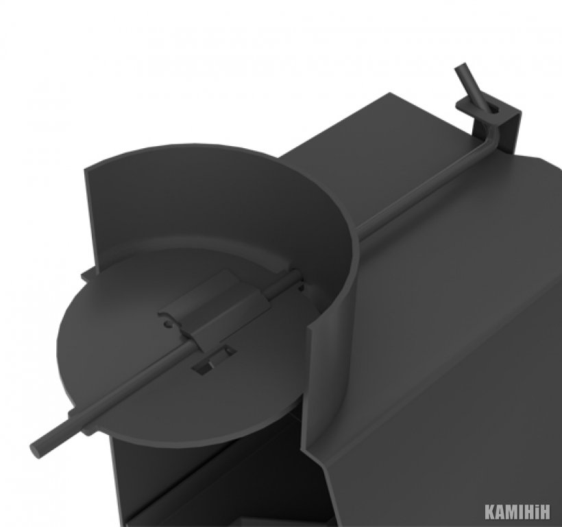 Угловая каминная топка KFD ECO 70