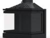 Камінна топка KFD MAX 7 3F з шибером (кутова, трьохстороння)