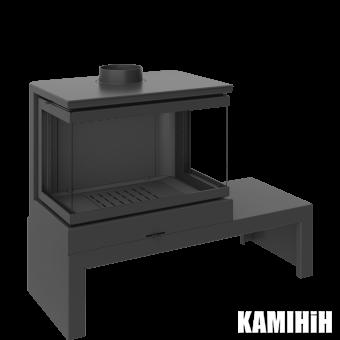 Чавунна камінна пічка KFD STO Max 14 3F