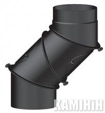 Колено KNSR/UNI Ø120-250, 2 мм четырехсегментное