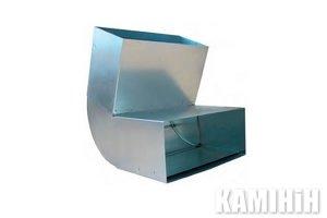 Коліно регульоване KSSN150x50/0-110-OC 0°- 110°