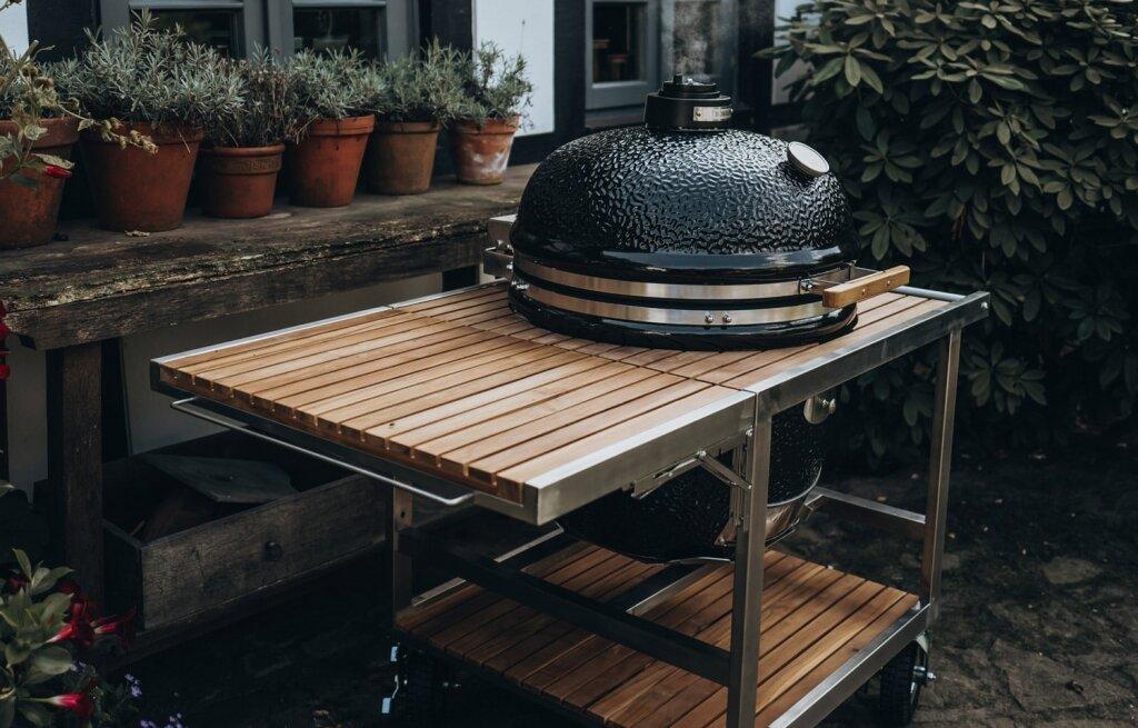 Комплект - Monolith classic BBQ-GURU Pro-serie 1.0 + візок BUGGY