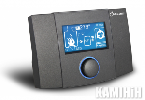 Electronic system for fireplaces with a water circuit 260 ecoKOM