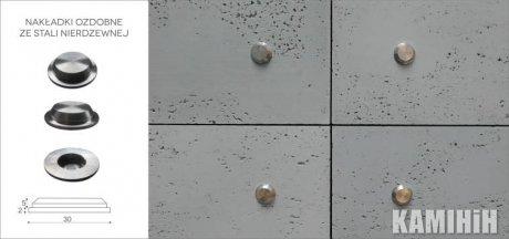 Декоративное крепление для 3D панелей