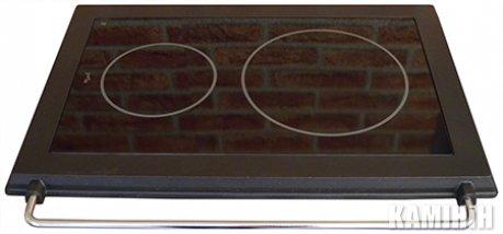 Кухонна керамічна плита HTT 5A з чавунною рамкою