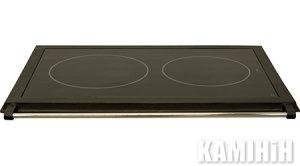 Кухонная керамическая плита со стальной рамкой HTT 3A