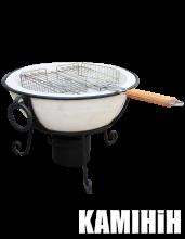 Grill ceramic radial