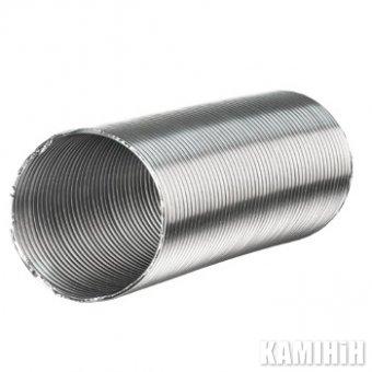 Неизолированый алюминиевый воздухопровод Ø 100