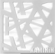 Панель ажурна одностороння та двостороння MDF3d_045 (ціна за м²)