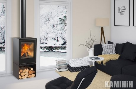 Fireplace stove Rocal HABIT 50 V GRAFFITI