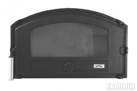 Пічні дверцята Pisla HTT 432 (герметичні, контроль тяги повітря)