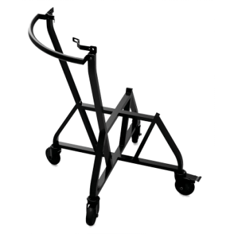 Подставка для гриля BGE L на колесиках с ручкой
