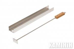 Планка - подставка для загрузки аромостружки для копчения